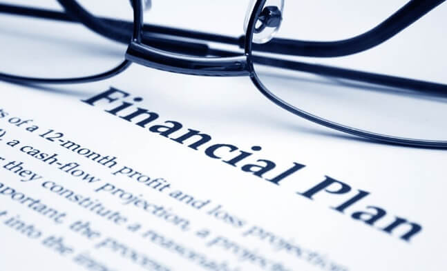 Tailored, custom financial plan